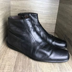 Paul Smith Designers all leather boots size 44